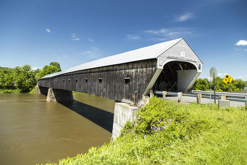 Windsor Covered Bridge della Cornovaglia immagini stock libere da diritti