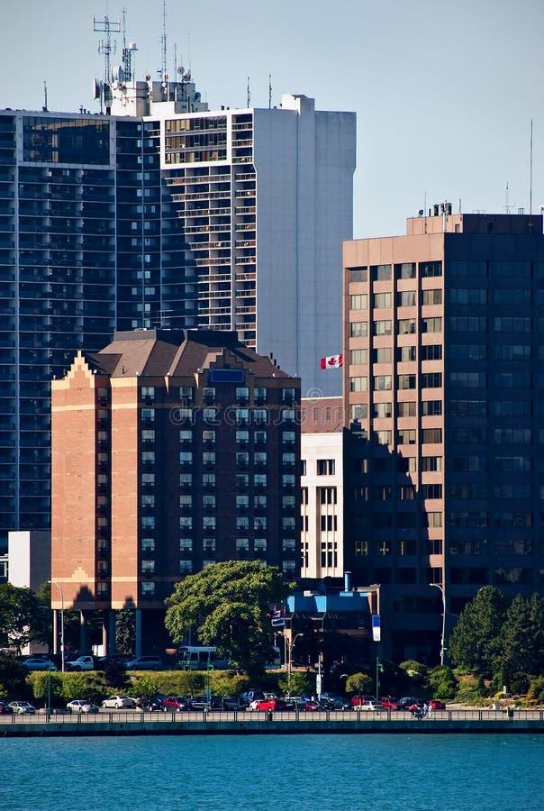 windsor du centre du Canada photos stock