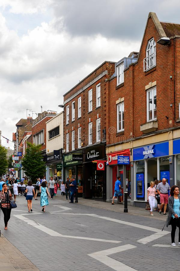 Windsor, Engeland, het Verenigd Koninkrijk stock foto's