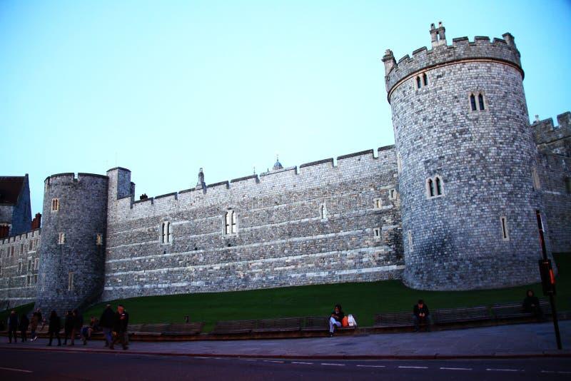 Windsor castle scene. stock photo