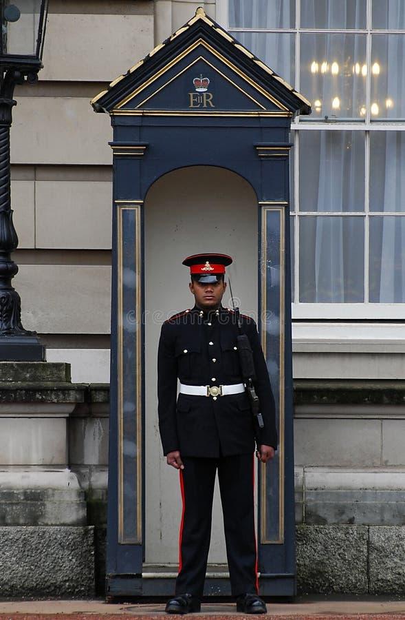 Guarding the Queen royalty free stock photos