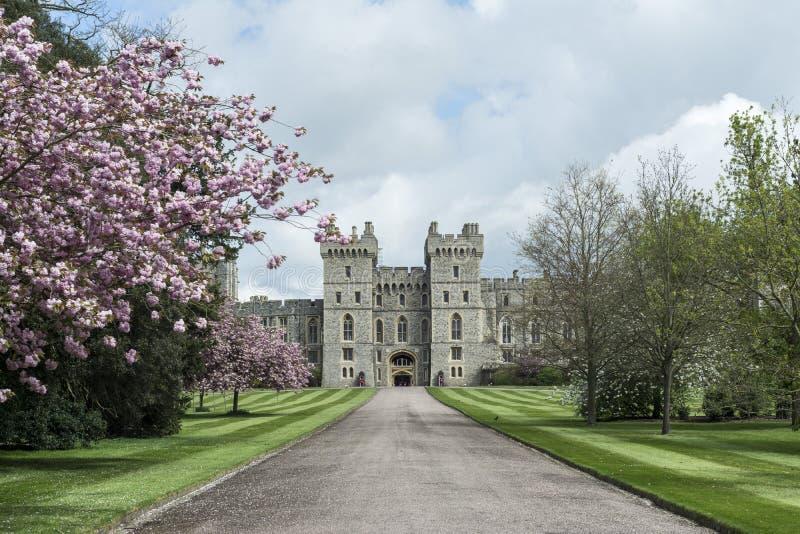 Windsor-entrace, Vereinigtes Königreich stockfotografie