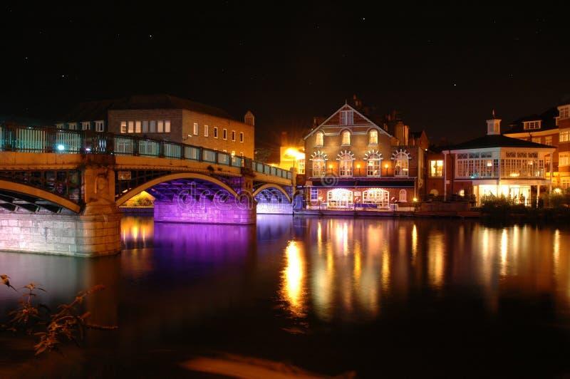 Windsor and Eton Bridge stock image