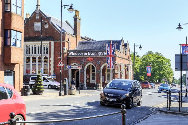 Windsor & Eton Riverside railway station royalty free stock image