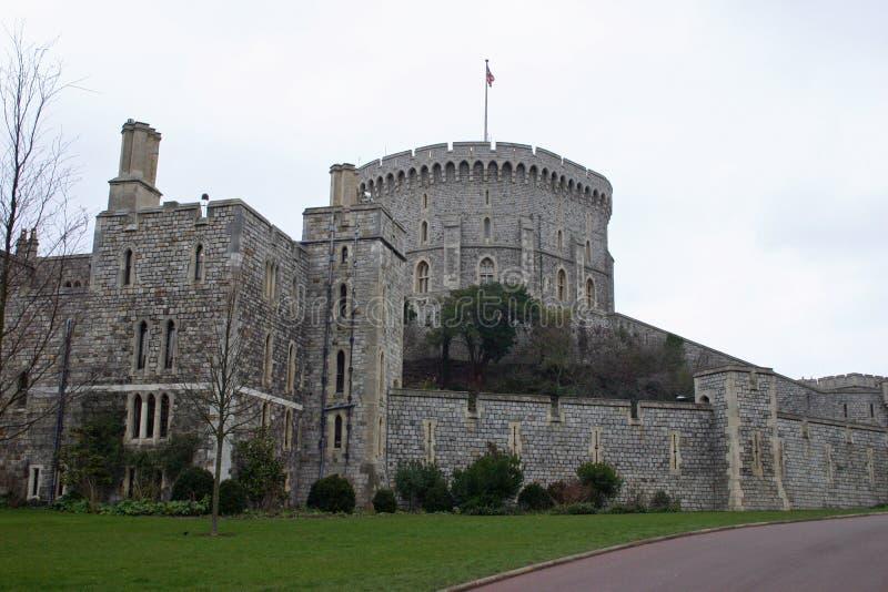 Windsor kasztel, Berkshire obraz royalty free