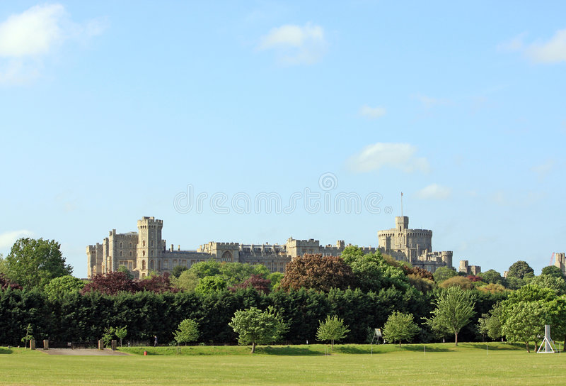 Windsor Schloss stockfoto