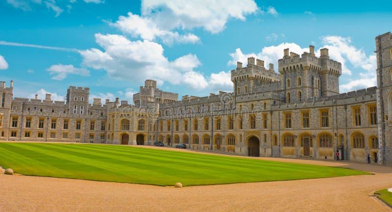 Windsor-Schloss, königlicher Wohnsitz, Windsor, England stockfotografie