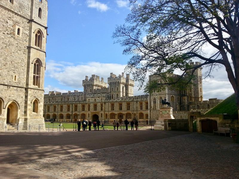 Windsor slott arkivfoton