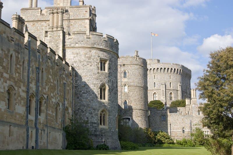 Windsor slott, södra sida fotografering för bildbyråer