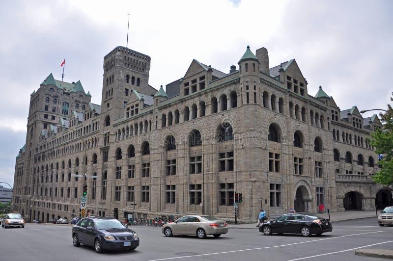 Windsor stacja w Montreal, Kanada obraz stock