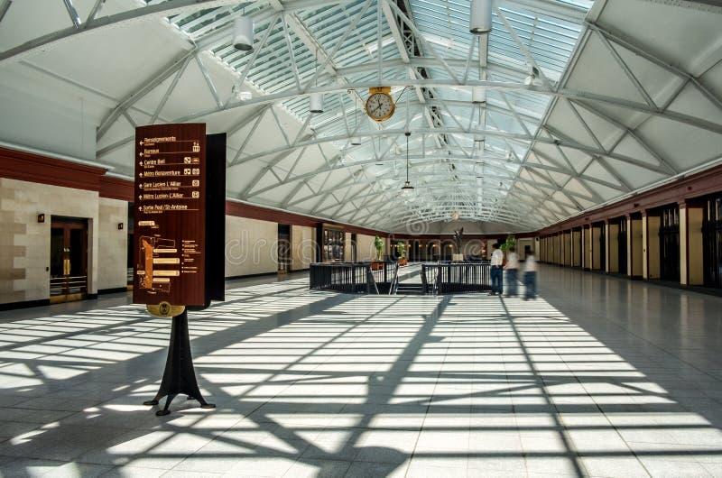 Windsor Station (Montreal) lizenzfreie stockfotos
