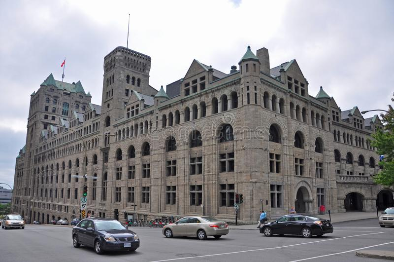 Windsor Station in Montreal, Kanada stockbild