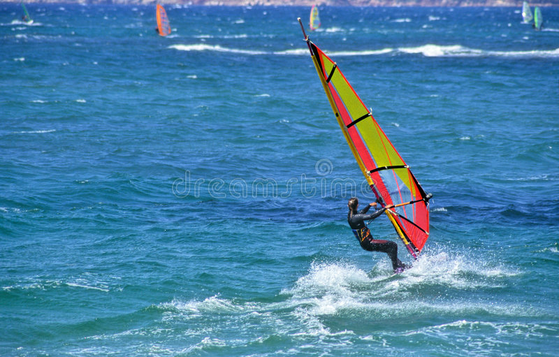 Windsurf stockbilder