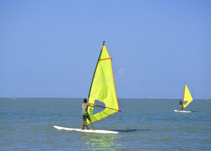 windsurf zdjęcia royalty free