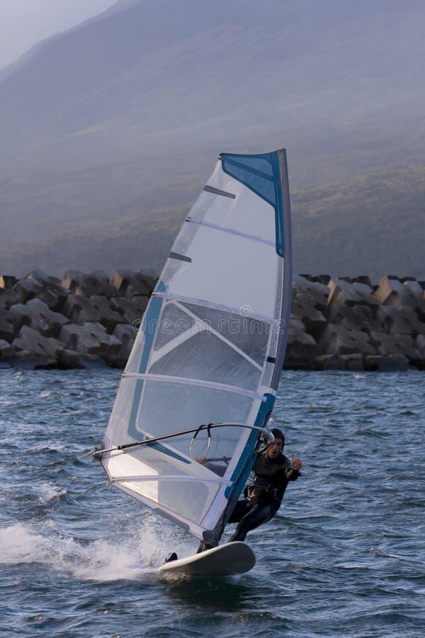 Windsurf lizenzfreie stockbilder