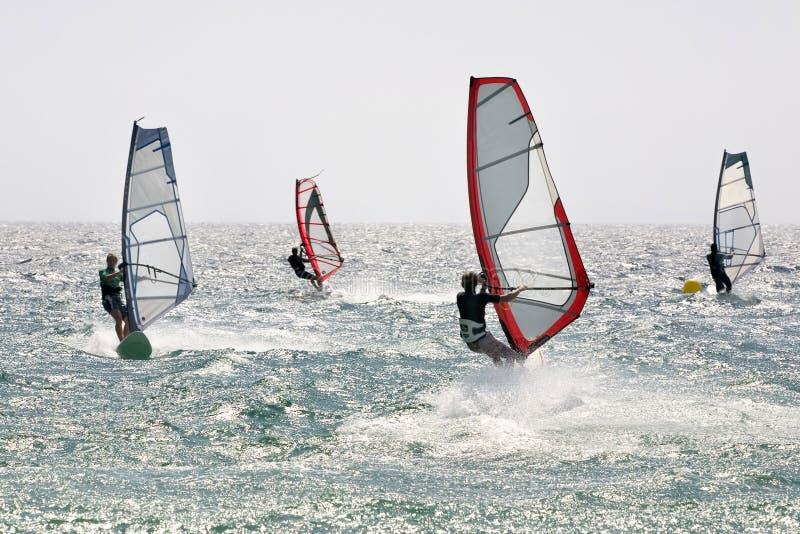 Windsurf 4 imagem de stock royalty free