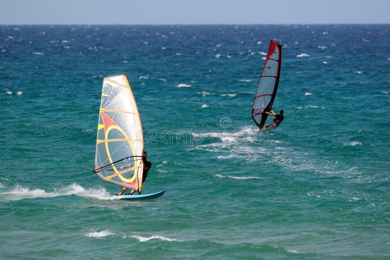 Windsurf 4 photographie stock