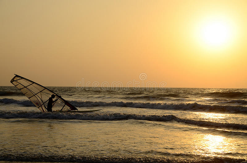 windsurf royalty-vrije stock fotografie