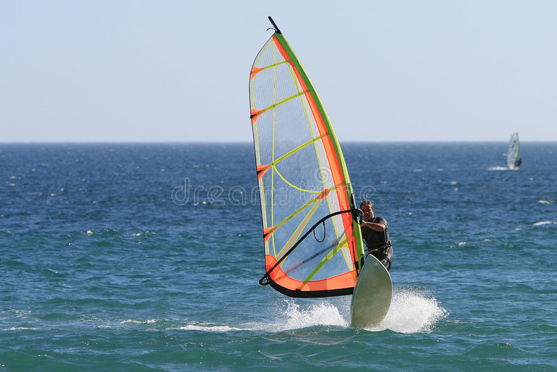 Windsurf foto de archivo