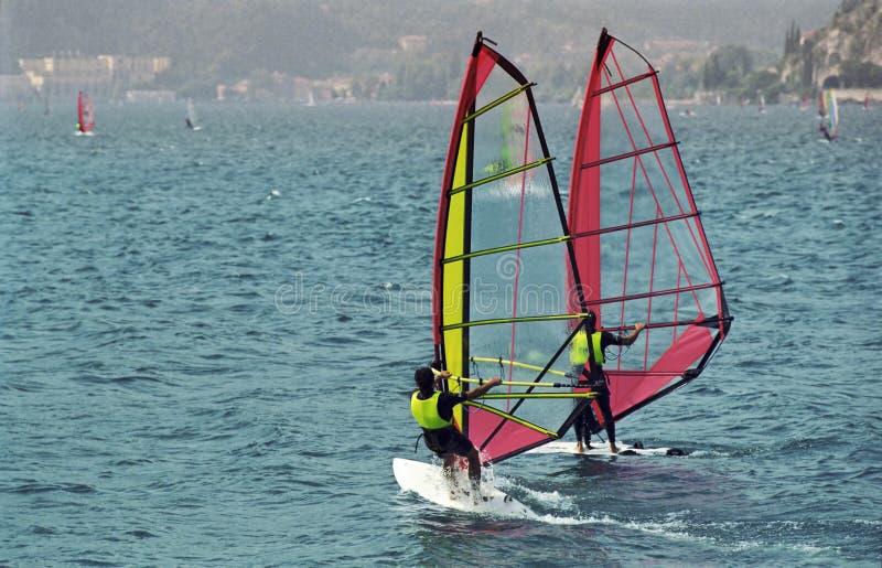 Windsurf Garda photos stock