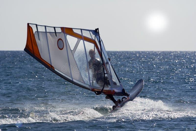 Download Windsurf il salto. fotografia stock. Immagine di estate - 7313742