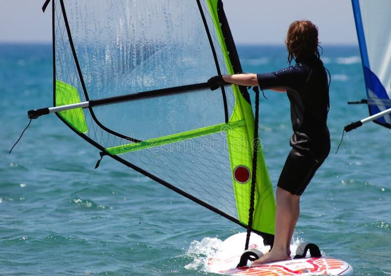 windsurfer малыша стоковые фото