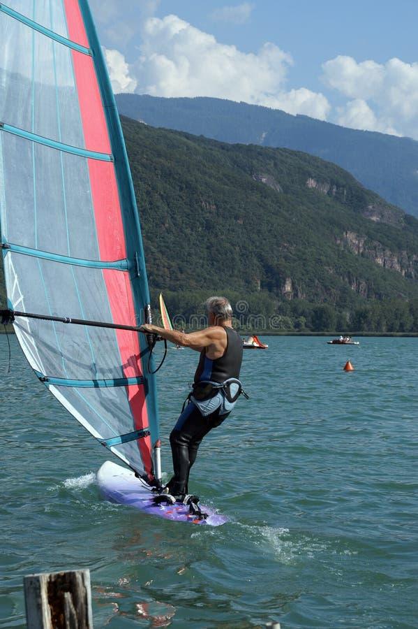 windsurfer 1 fotos de archivo