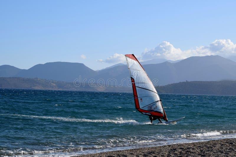windsurfer стоковое изображение