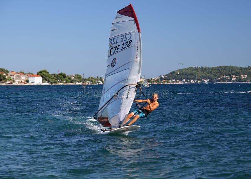 windsurfer obrazy royalty free