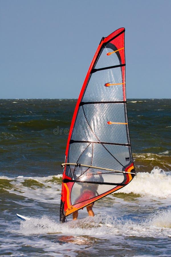 Windsurfer foto de archivo
