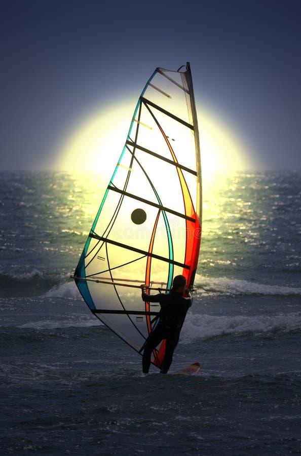 Windsurfer royalty-vrije stock foto's