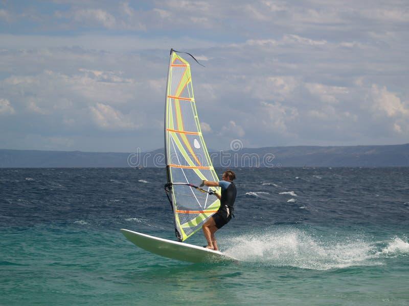 Windsurfer imagens de stock royalty free