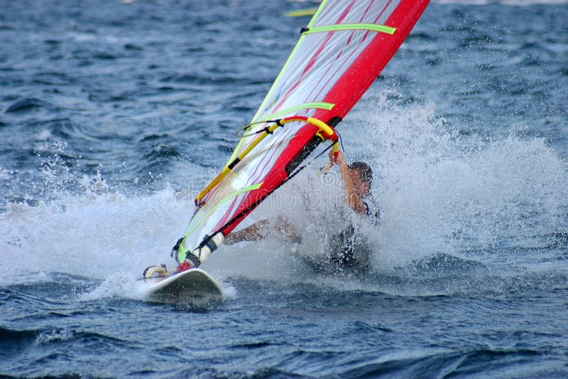 Download Windsurfer stock photo. Image of sport, clumsy, surfing - 152860