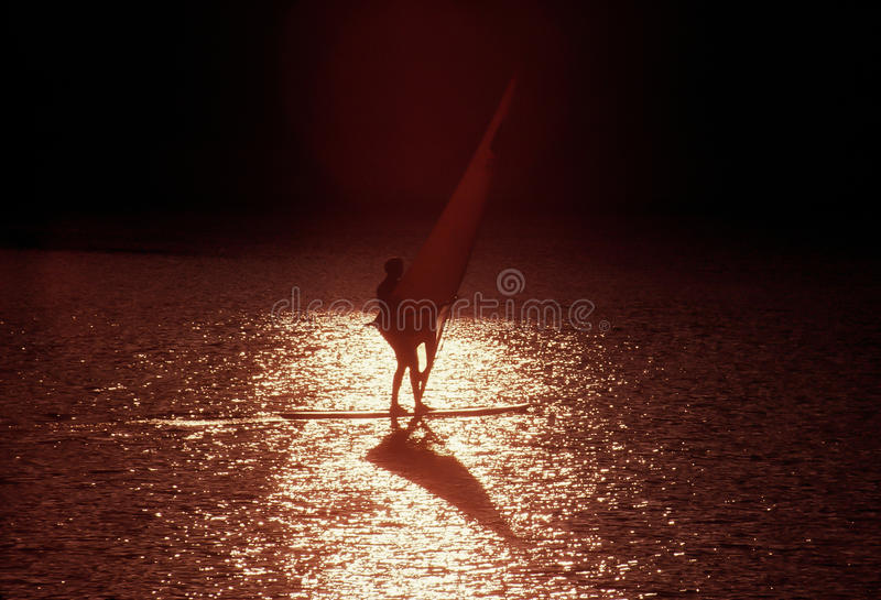 Download Windsurfer stock image. Image of horizon, board, recreation - 20045553