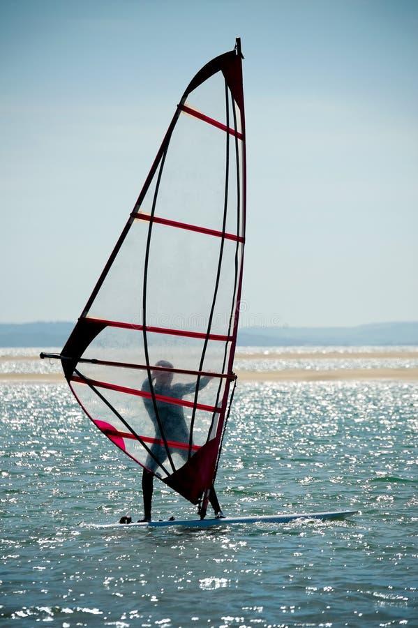 Download Windsurfer stock image. Image of shore, adrenaline, outdoor - 21824065