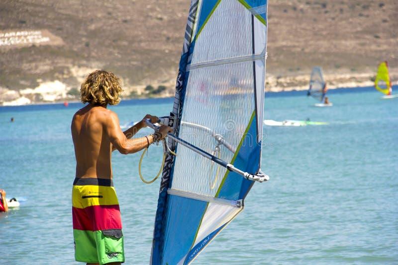 windsurfer стоковые фото