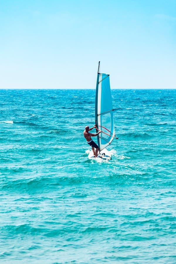 windsurfer foto de archivo libre de regalías