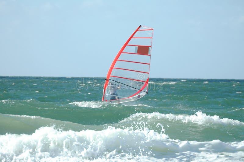 Windsurfer2 foto de stock