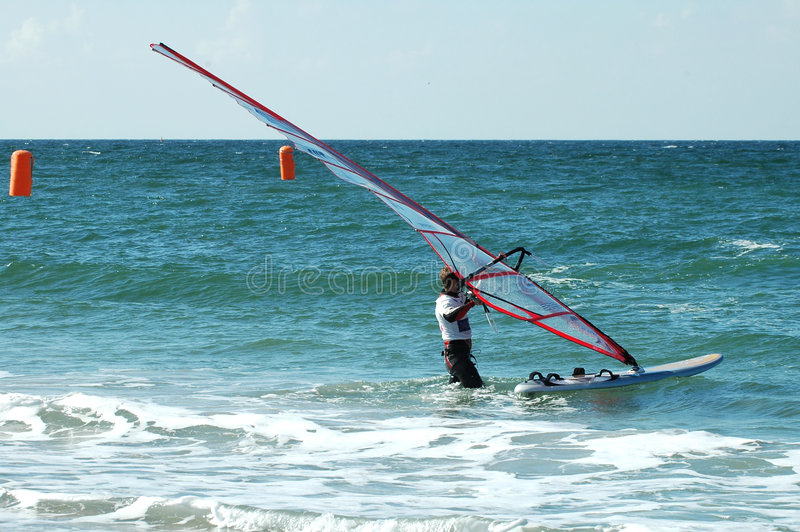 Windsurfer5 fotografia de stock