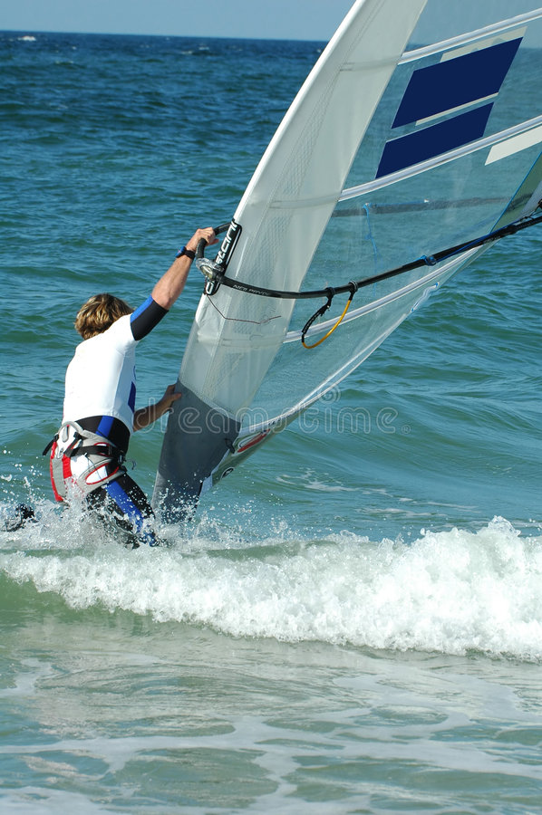 Download Windsurfer6 stock image. Image of sail, leisure, wind, water - 276011