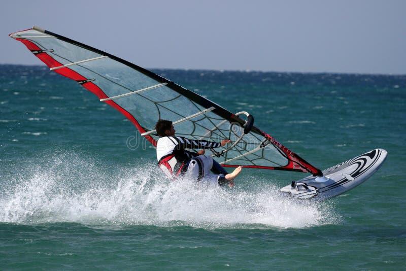 windsurfers άλματος s ελεύθερης κ&omi στοκ φωτογραφία με δικαίωμα ελεύθερης χρήσης