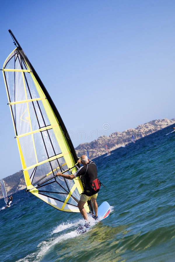 windsurfers obraz stock