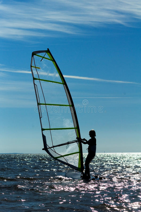 Windsurfing Stock Foto