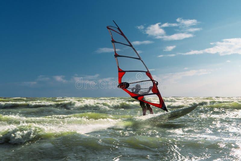 Windsurfing-2 photo stock