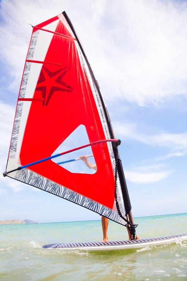 Download Windsurfing stock image. Image of active, surf, horizon - 25069185