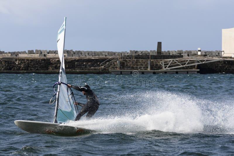 Windsurfing stockfoto