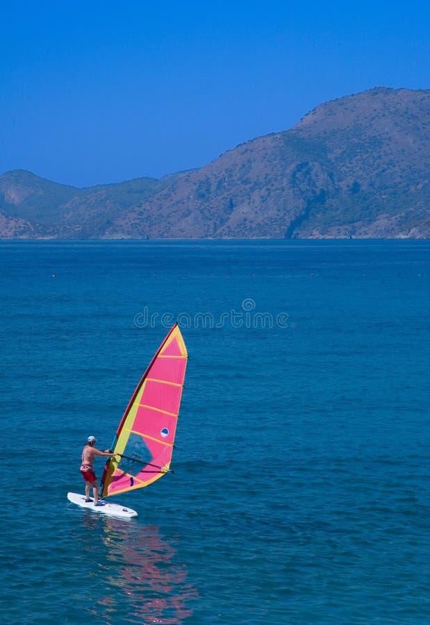 Windsurfing Image stock