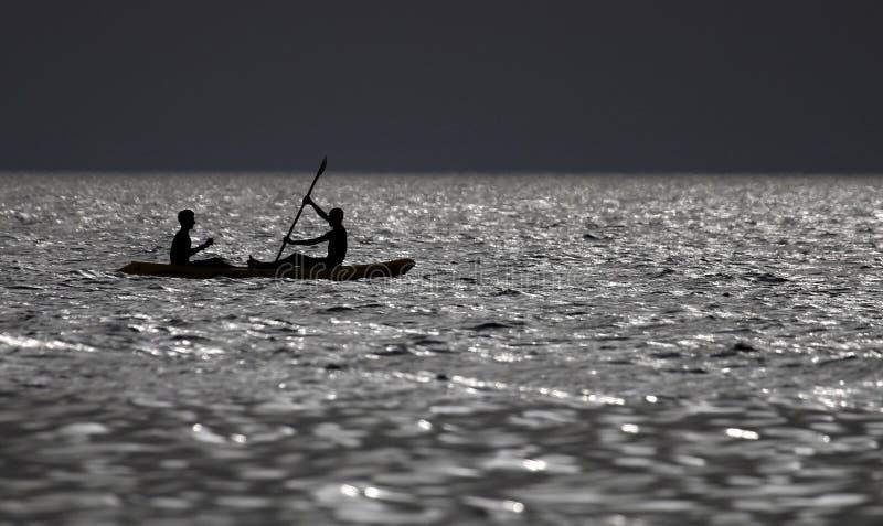windsurfing imagen de archivo