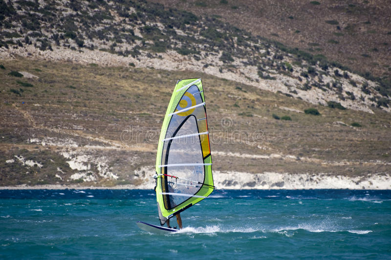 Download Windsurfing in Alacati stock image. Image of spray, surf - 10474149