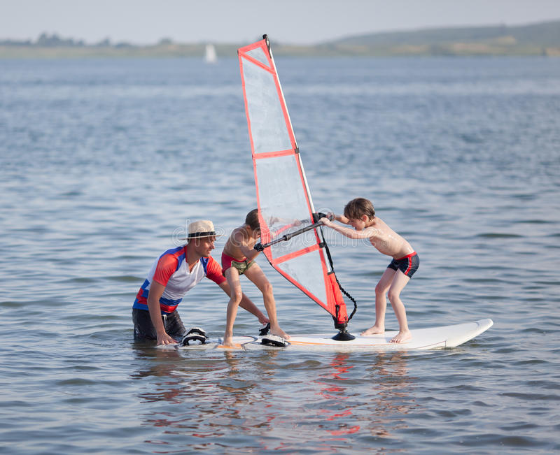 Download Windsurfing Fun Stock Image - Image: 30326781